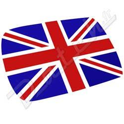 pi ces d tach es austin mini autocollant de toit union jack drapeau anglais. Black Bedroom Furniture Sets. Home Design Ideas