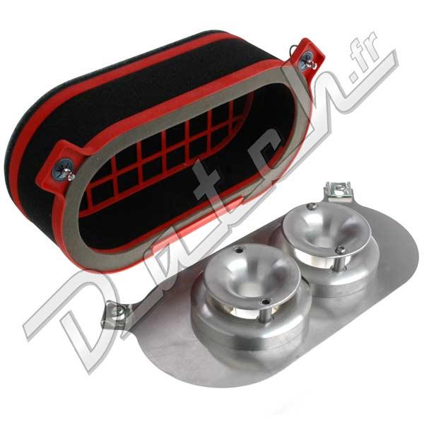 filtre a air weber dcoe 40 45 itg cornets stubstack med. Black Bedroom Furniture Sets. Home Design Ideas