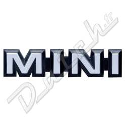 pi ces d tach es austin mini badge de malle mini 1984 1990 mini noir et gris. Black Bedroom Furniture Sets. Home Design Ideas
