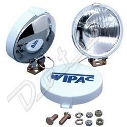 """Paire de WIPAC 7 /"""" PHARE Support BOL MINI TRIUMPH MG 7 pouce plastique"""